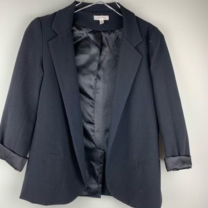 Silence + Noice Black Career Blazer Jacket Small
